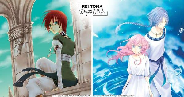 Viz Discounts Rei Toma's Popular Manga Ahead of Her New Series