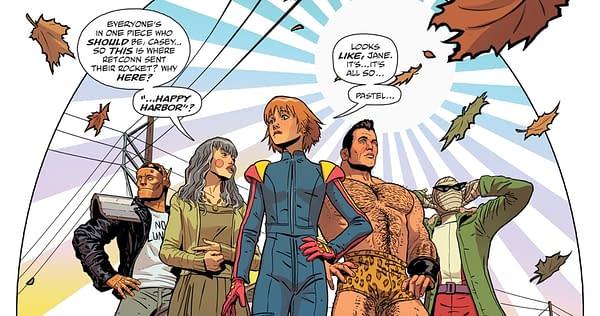 JLA/Doom Patrol Special #1 art by Aco, Tamra Bonvillain, and Marissa Louise