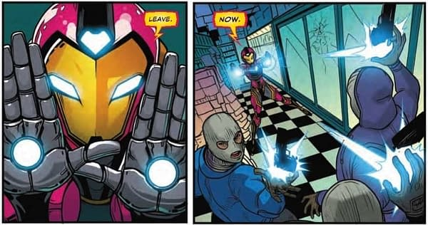 The Least You Can Do is Get Her Name Right…Next Week's Ironheart #2