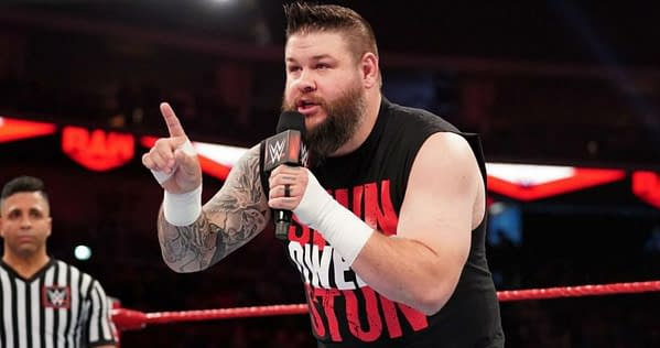 Kevin Owens would like to retort, courtesy of WWE.
