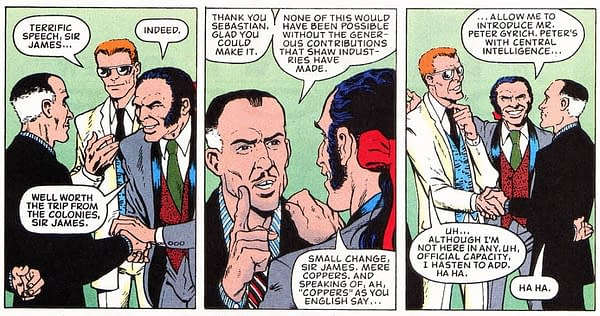Did House Of X Resurrection Come From Captain Britain?