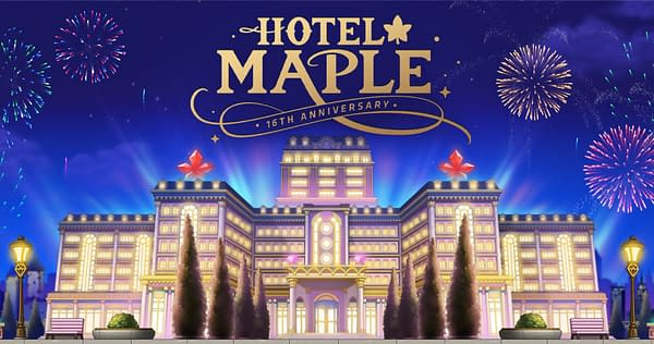 Welcome to the Hotel Maple, such a lovely place... Courtesy of Nexon.