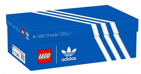 LEGO Reveals New adidas Originals Superstar In Brick Form