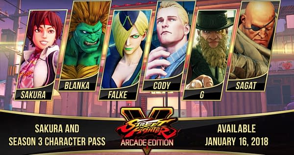 Old Favorites Return as All Street Fighter V Season 3 Characters Revealed