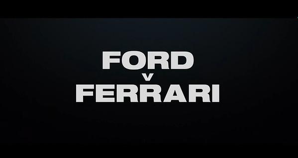 """First Trailer for """"Ford Vs. Ferrari"""""""