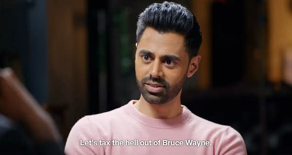 """I Want to Make Batman Unnecessary"" - Anand Giridharadas Takes on Bruce Wayne in The Patriot Act"