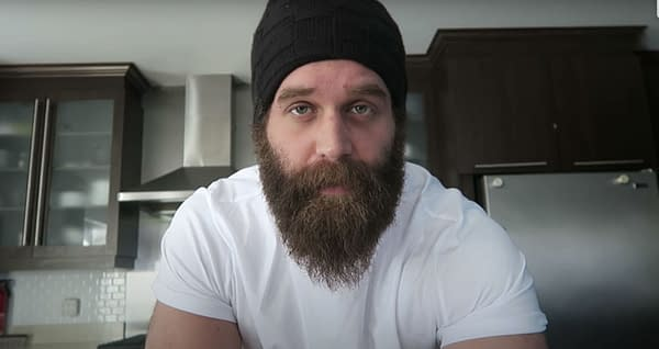 Vlog screenshot. Credit: Harley Morenstein's YouTube
