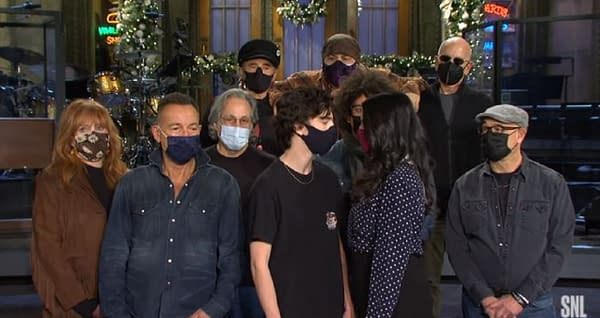 Saturday Night Live released a new promo (Image: SNL screencap)