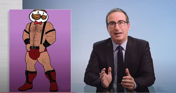 Last Week Tonight: John Oliver Pops at Pringles and Can't Stop