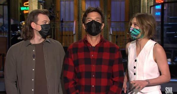 Saturday Night Live returns this weekend (Image: NBCU screencap)