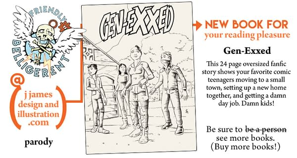 X-ual Healing: Gen-EXXed, the Alternative Comics Generation X Reboot