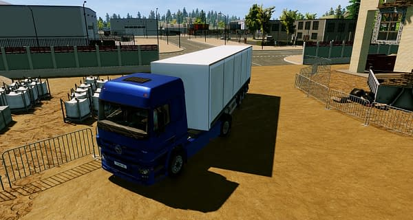 Truck Driver Gets an Official Launch Announcement and Trailer