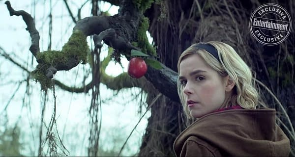 "Chilling Adventures of Sabrina: Shipka on Sabrina's Strengths, Aguirre-Sacasa Talks ""Dark Education"""