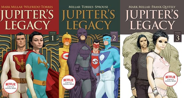 Mark Millar's Plans For Jupiter's Legacy 3, Prodigy 2 and John Romita