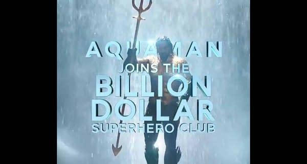 'Aquaman' Swims Past $1 Billion at Global Box Office
