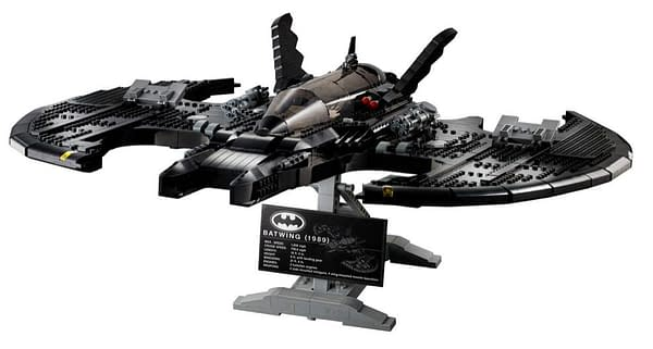 LEGO Unveils 1989 Batwing Set on Batman Day 2020