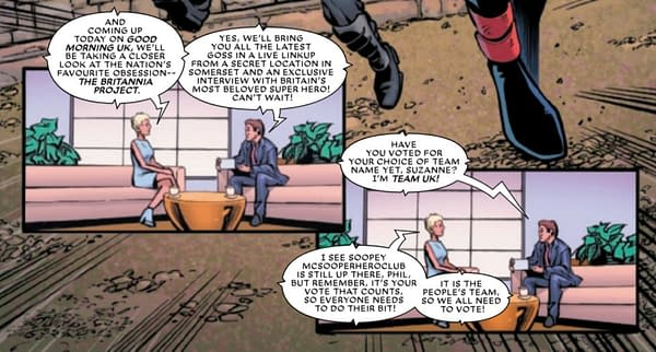 A Very British Guide To Marvel Comics' The Union #1 (Spoilers)