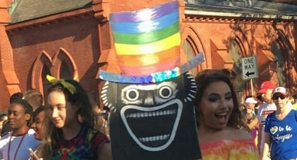 The Babadook At the Washington DC Pride March