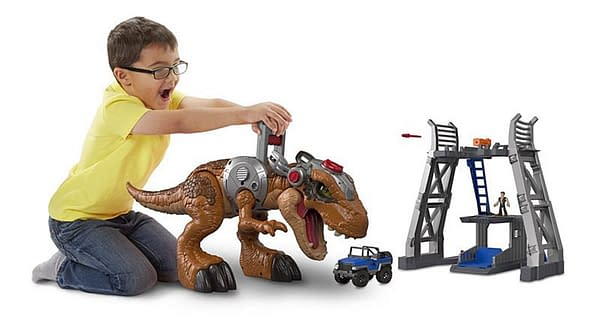 Jurassic World's T-Rex Gets a Monster-Sized Imaginext Figure