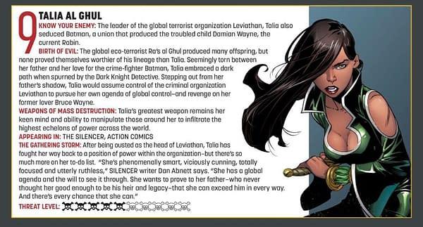 Will Talia al Ghul Make Brian Bendis's Leviathan a Superman and Batman Crossover?