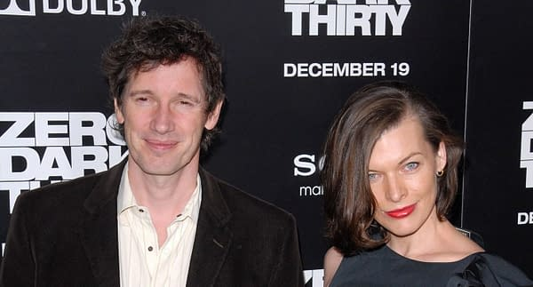 """Paul WS Anderson, Milla Jovovich at the """"Zero Dark Thirty"""" Los Angeles Premiere, Dolby Theater, Hollywood, CA. Editorial credit: s_bukley / Shutterstock.com"""