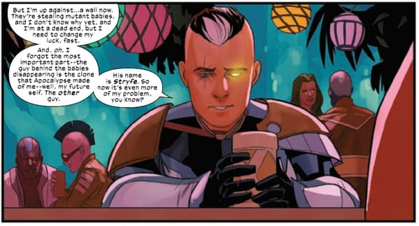 Clones And Genetic In Cable and X-Force