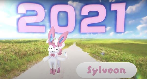 Sylveon in Pokémon GO. Credit: Niantic