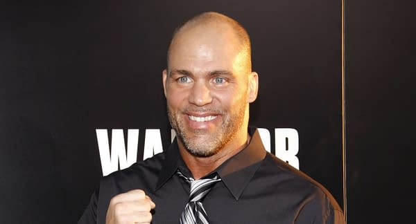 Kurt Angle at the Los Angeles premiere of 'Warrior' held at the ArcLight Cinemas in Hollywood, USA on September 6, 2011. Editorial credit: Tinseltown / Shutterstock.com