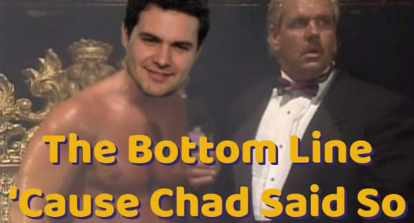 The Bottom Line 'Cause Chad Said So graphic, made by me, The Chadster. Graphic design is my passion.