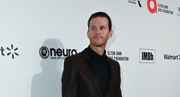 Ryan Kwanten walks the red carpet at the Elton John AIDS Foundation Party on February 09, 2020 in Los Angeles, California. Editorial credit: Silvia Elizabeth Pangaro / Shutterstock.com