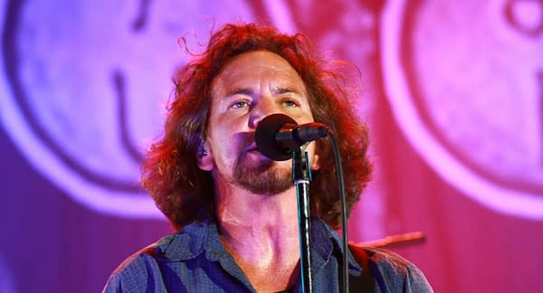 Singer Eddie Vedder of the Pearl Jam during the Jammin Heinekn Festival on July 6, 2010 in San Giuliano, Venice, Italy. Editorial credit: Matteo Chinellato / Shutterstock.com
