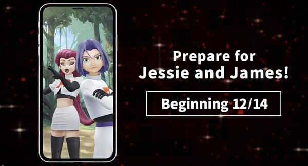 Jessie & James promo image in Pokémon GO. Credit: Niantic