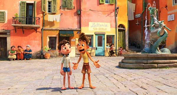 Pixar Drops the First Trailer for Their Next Feature Film Luca