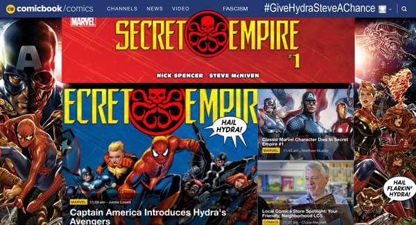 Is This What A Hydra Takeover Of Your Favorite Websites Will Look Like? [UPDATED]