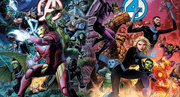 Empyre Avengers #0 + Empyre FF #0 Covers