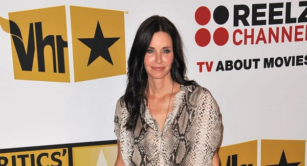 Courtney Cox at the inaugural Critics' Choice Television Awards, presented by the Broadcast Television Journalists Association, at the Beverly Hills Hotel. 6-20-11, CA. Editorial credit: Featureflash Photo Agency / Shutterstock.com