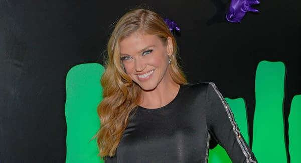 Adrianne Palicki attends Huluween Celebration at Town Stages on October 4, 2019 in New York City. Editorial credit: Ron Adar / Shutterstock.com
