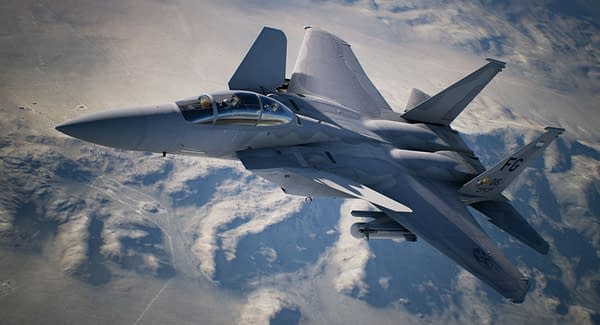 A look at the new F-15 S/MTD coming to the game, courtesy of Bandai Namco.