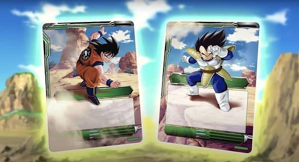Cards of Saiyan Showdown. Credit: Dragon Ball Super Card Game