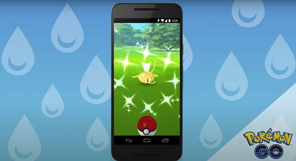 Magikarp Community Day may be coming to Pokémon GO. Credit: Niantic.