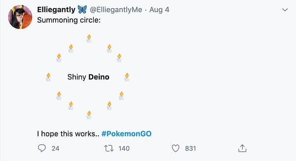 Deino meme. Credit: @ElliegantlyMe on Twitter.