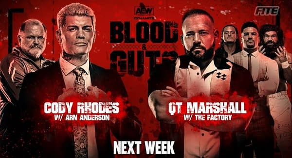Cody Rhodes will finally get his hands on QT Marshall on AEW Dynamite next week after making his surprise return on this week's show.