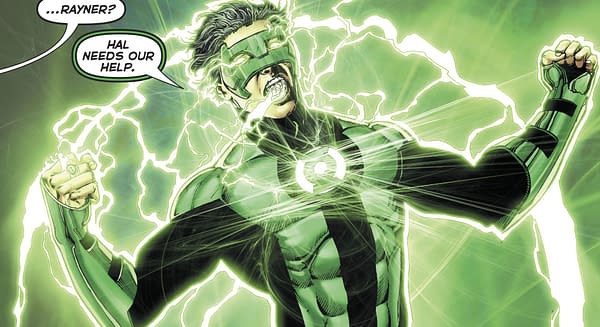 Hal Jordan and the Green Lantern Corps #38 art by Ethan van Sciver and Jason Wright
