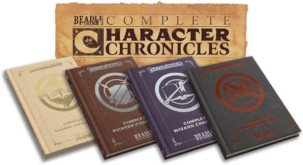 A look at the new Character Chronicles books for Pathfinder, courtesy of Beadle & Grimm's.