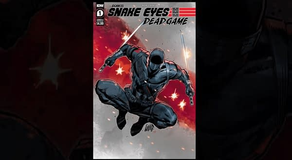 G.I. Joe: Snake Eyes #1 cover. Credit: IDW's Comic-Con@Home panel.