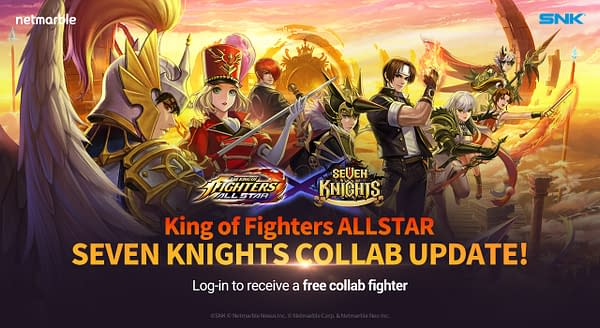 A look at the new collaboration event on the way to the game, courtesy of Netmarble.