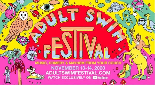 Adult Swim Festival returns virtually this November (Image: Adult Swim)