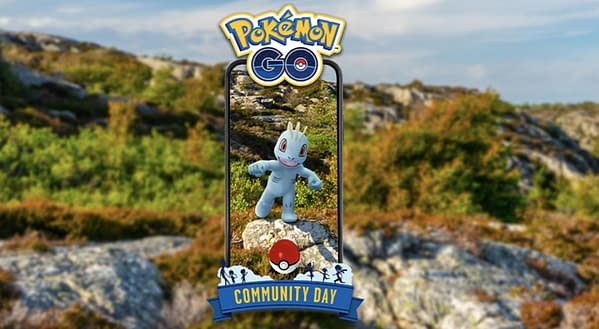Machop Community Day promo in Pokémon GO. Credit: Niantic