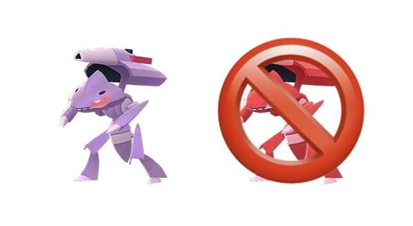 Burn Drive Genesect in Pokémon GO. Credit: Niantic