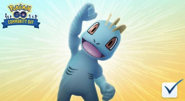 Machop in Pokémon GO. Credit: Niantic